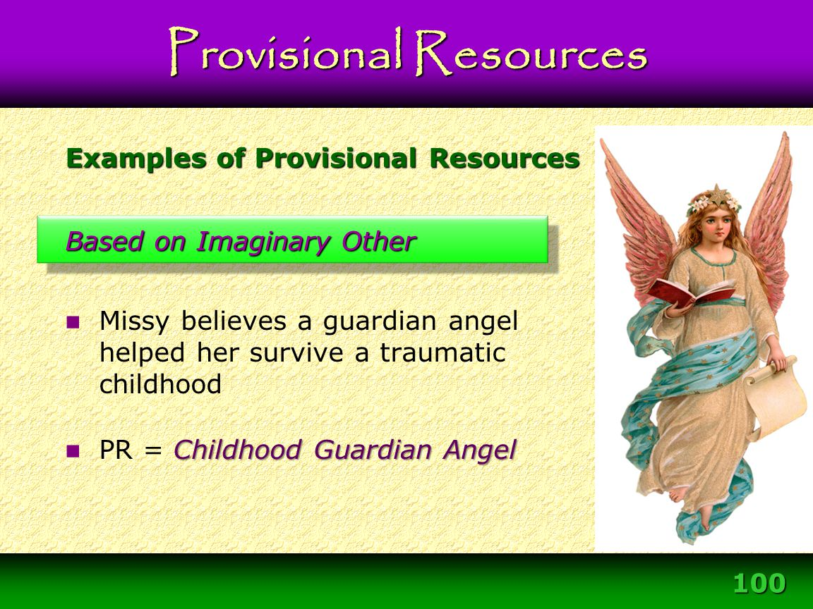 Examples of Provisional Resources