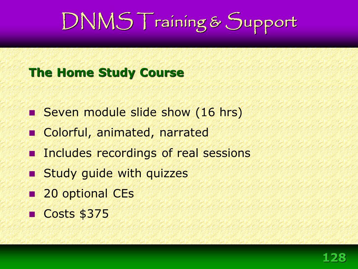 Module 3 – DNMS Resource Development Protocol 128