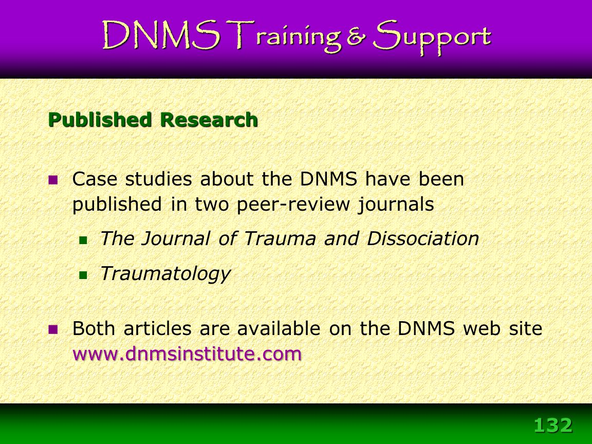 DNMS Training & Support