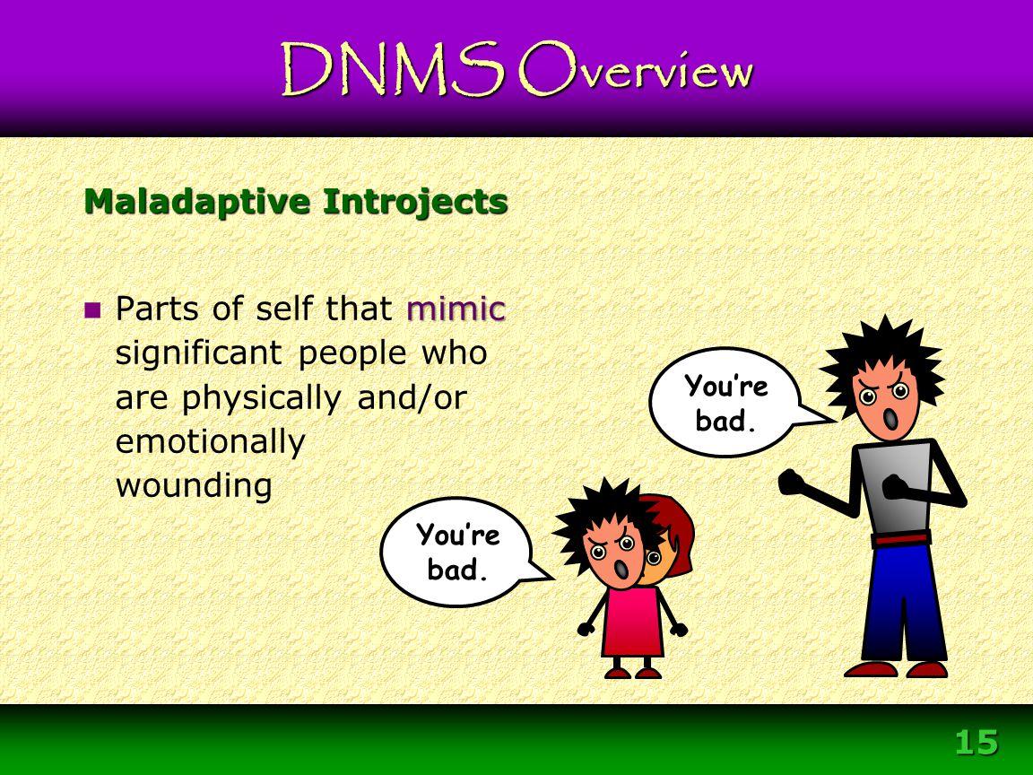 Maladaptive Introjects