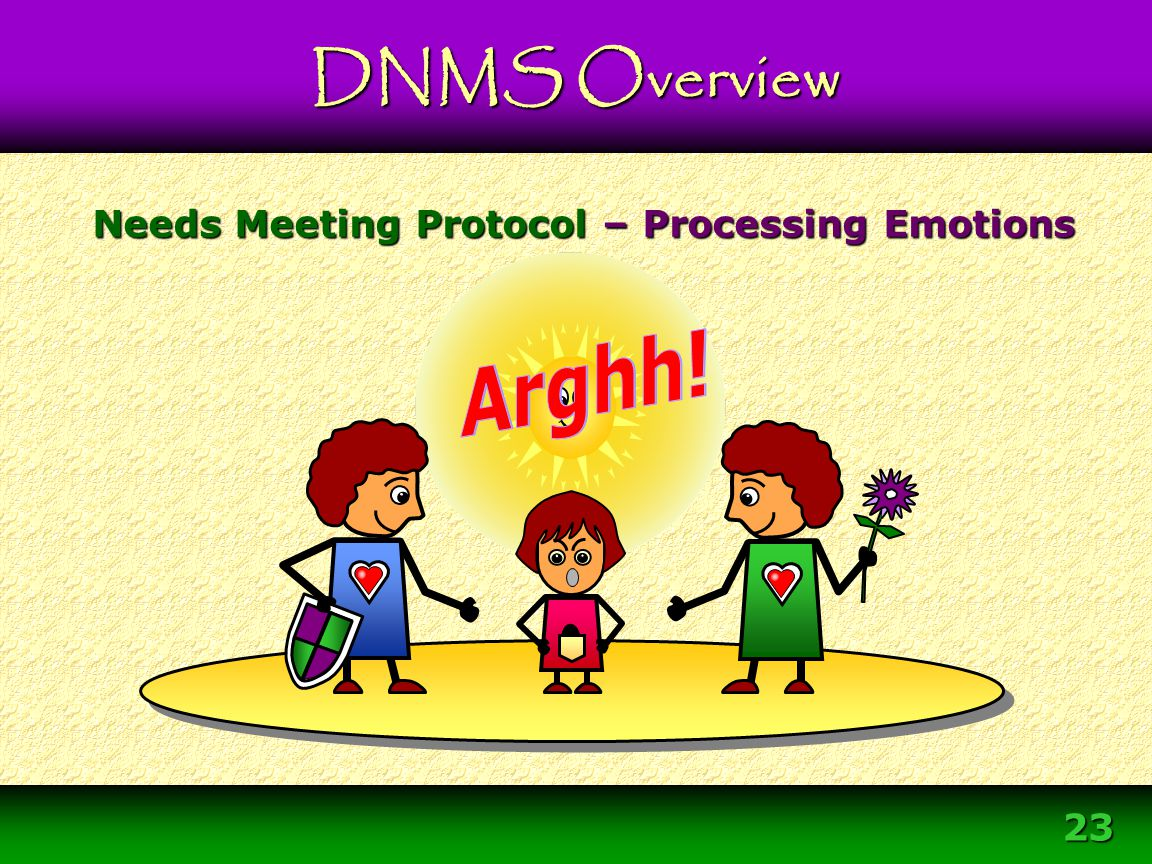 Needs Meeting Protocol – Processing Emotions