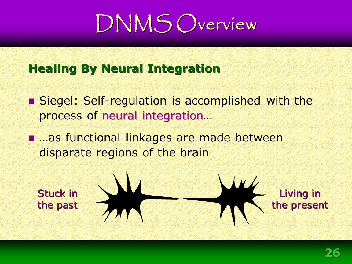 Healing By Neural Integration