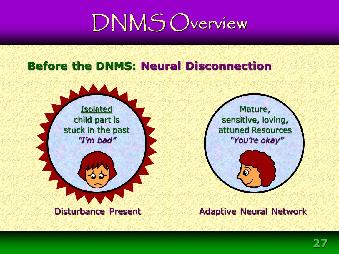 Before the DNMS: Neural Disconnection
