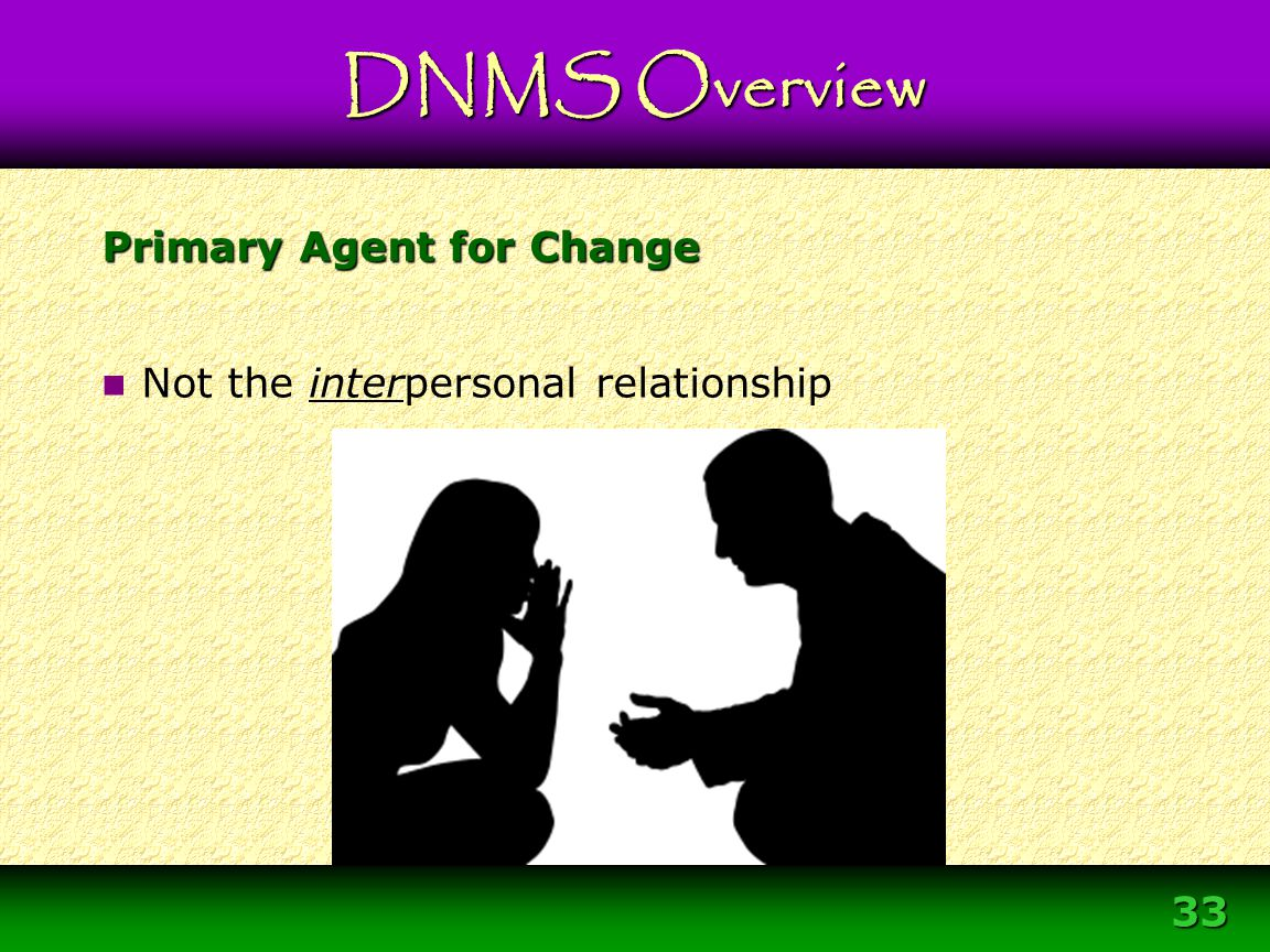 Primary Agent for Change