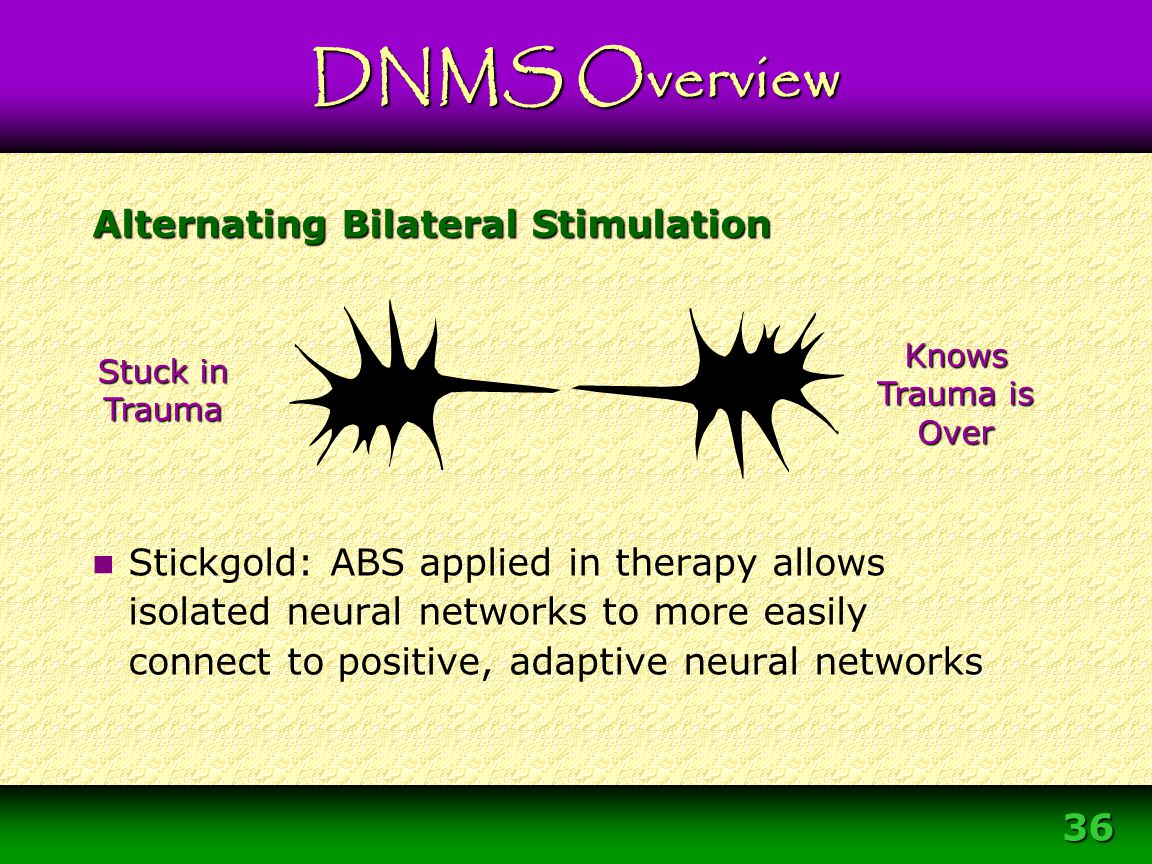 Alternating Bilateral Stimulation