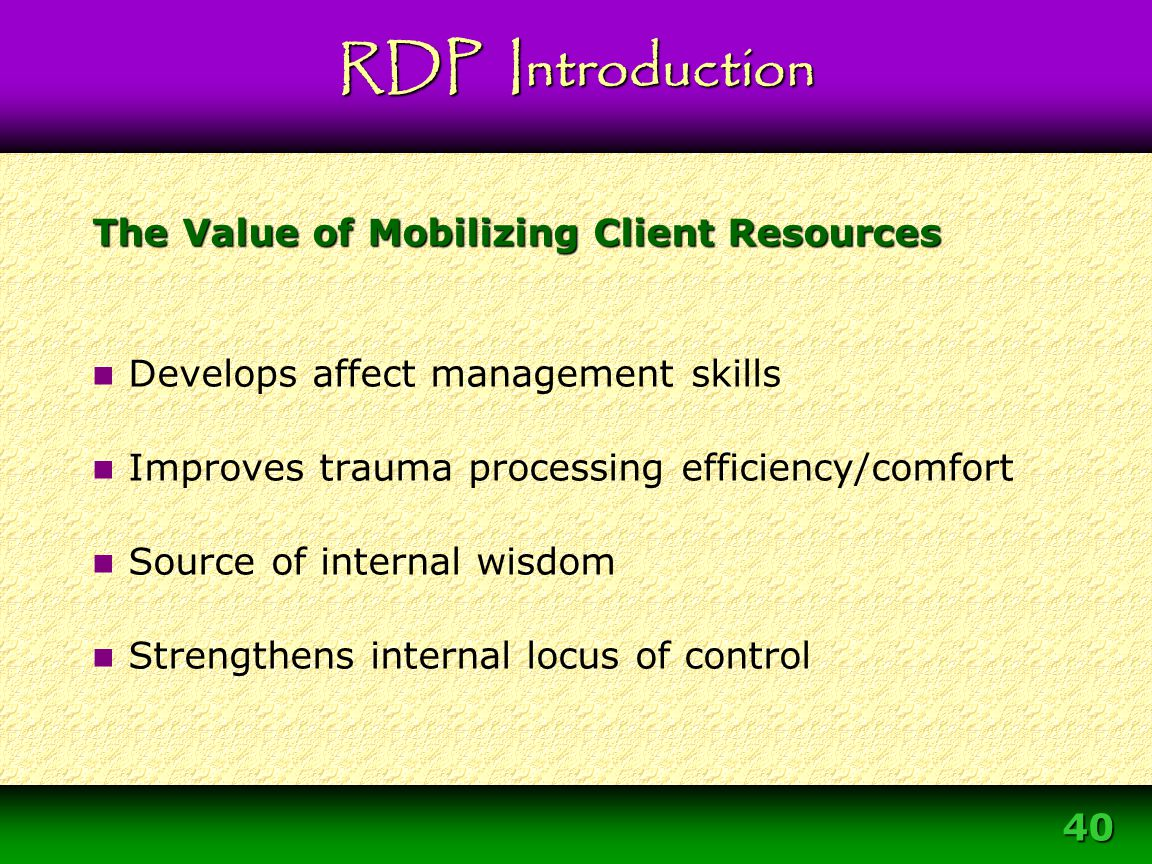 The Value of Mobilizing Client Resources