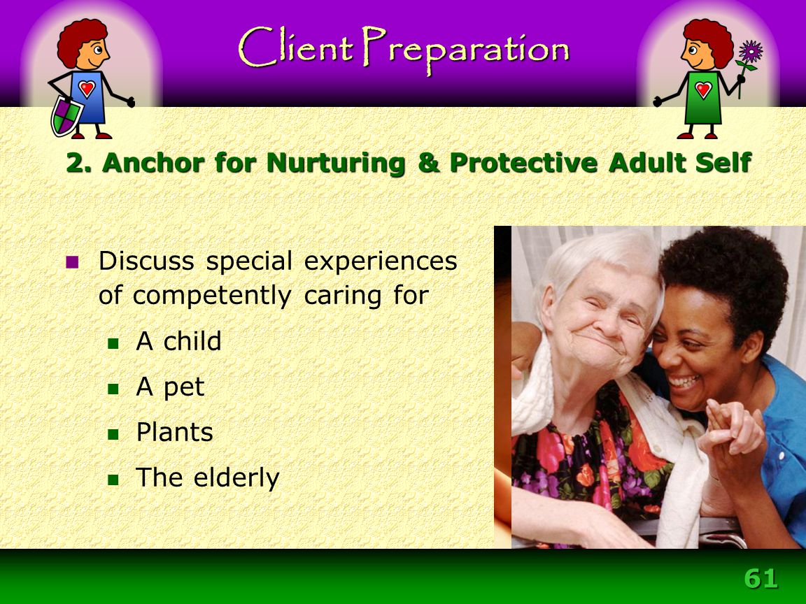 2. Anchor for Nurturing & Protective Adult Self