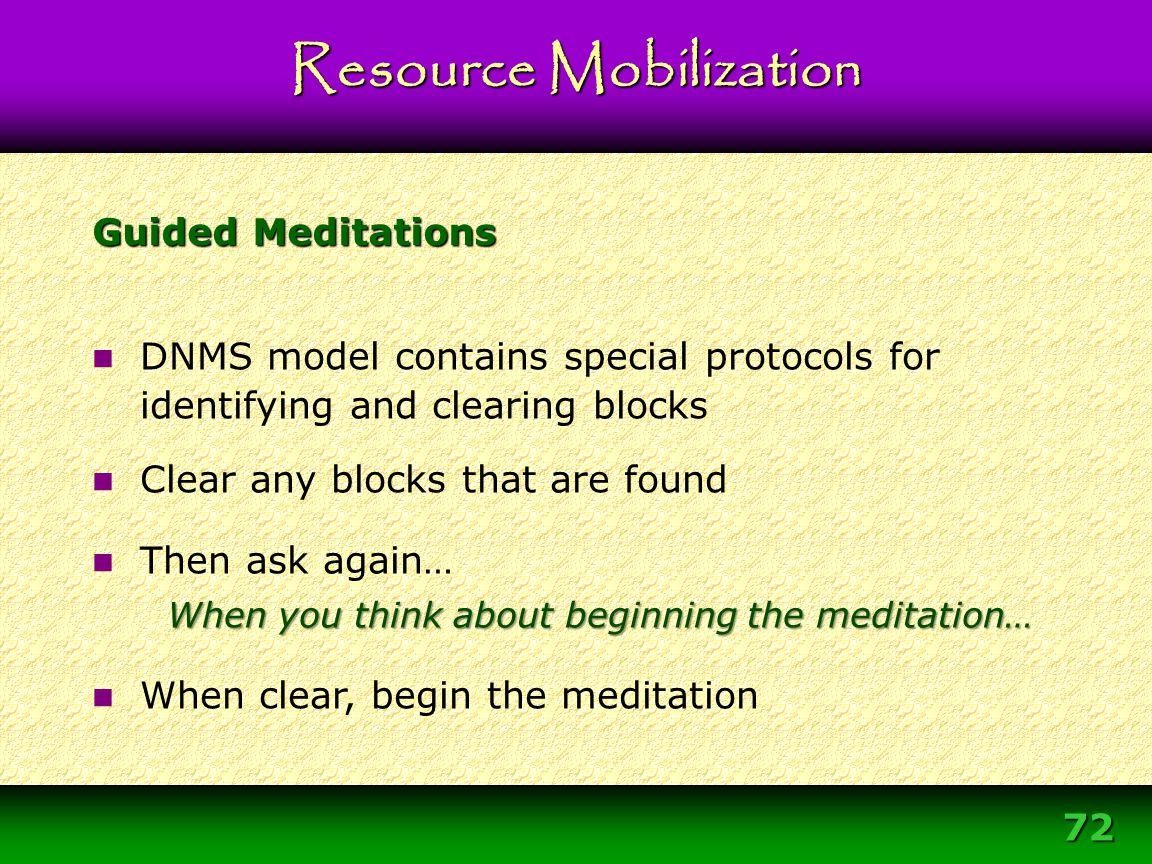 Module 3 – DNMS Resource Development Protocol 72