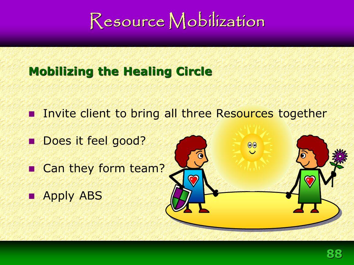 Mobilizing the Healing Circle