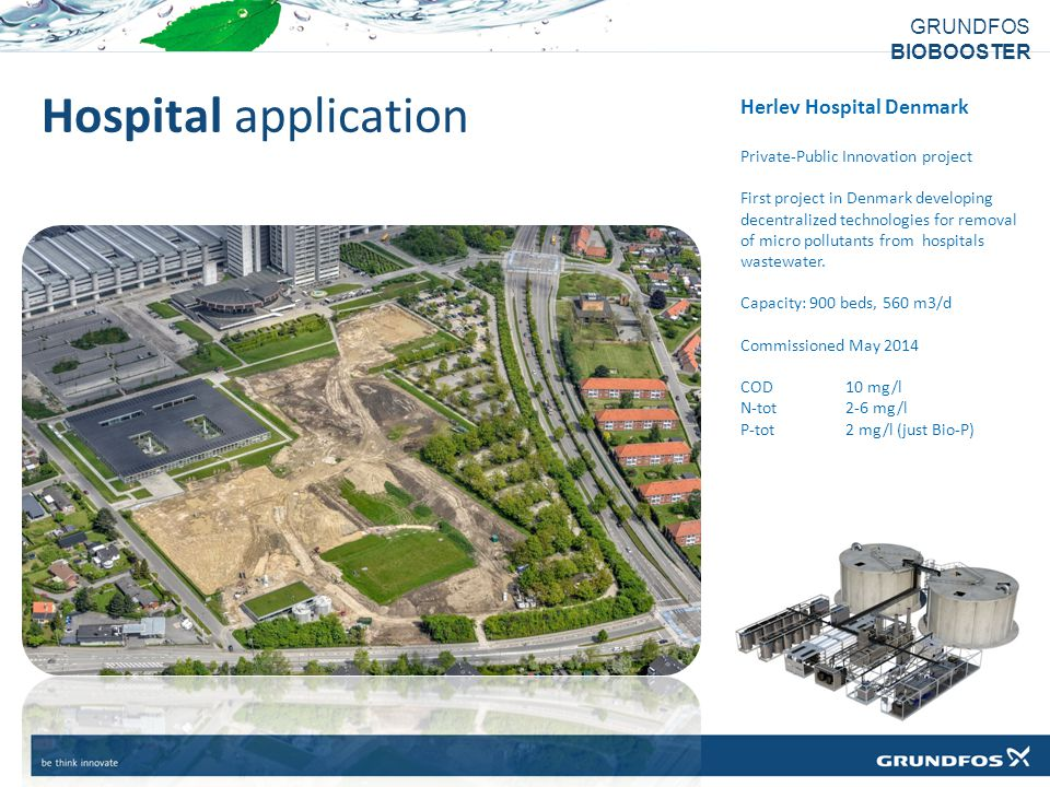 Hospital application Herlev Hospital Denmark