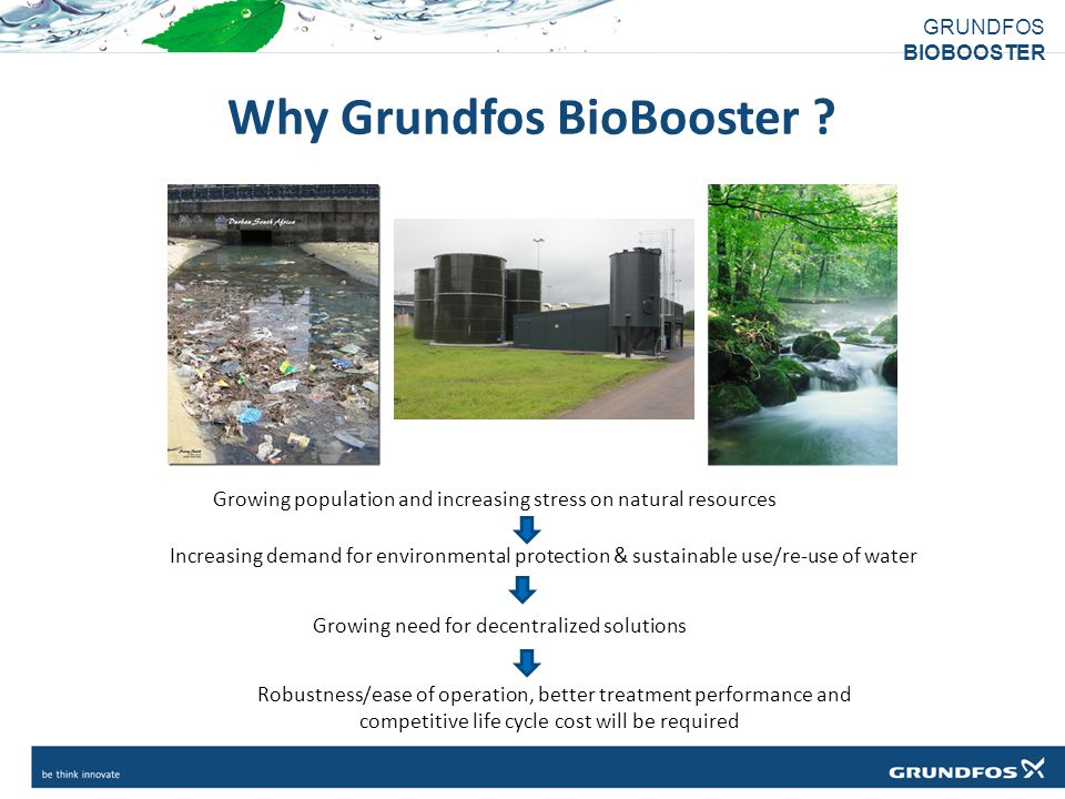 Why Grundfos BioBooster