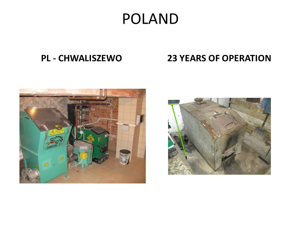 POLAND PL - CHWALISZEWO 23 YEARS OF OPERATION