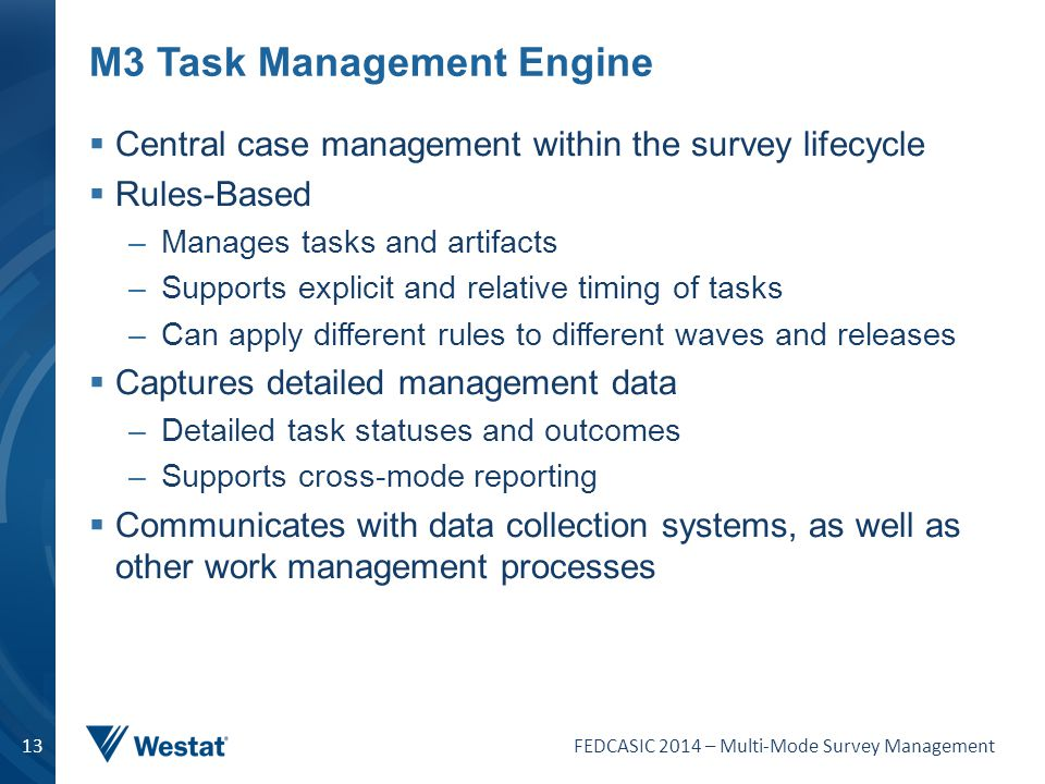 M3 Task Management Engine