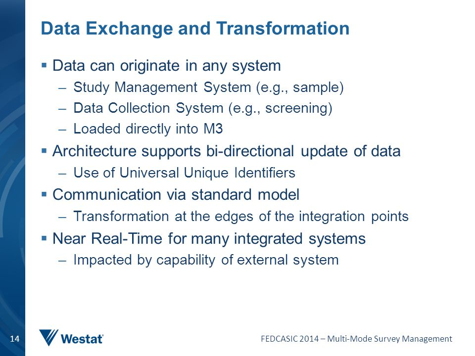 Data Exchange and Transformation
