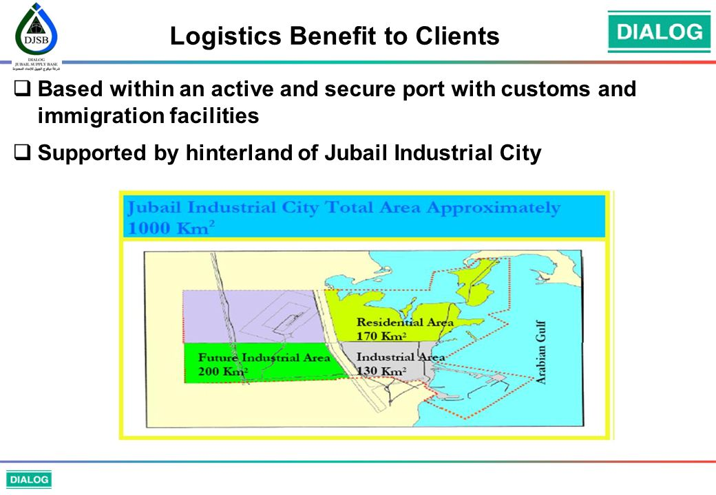 Logistics Benefit to Clients