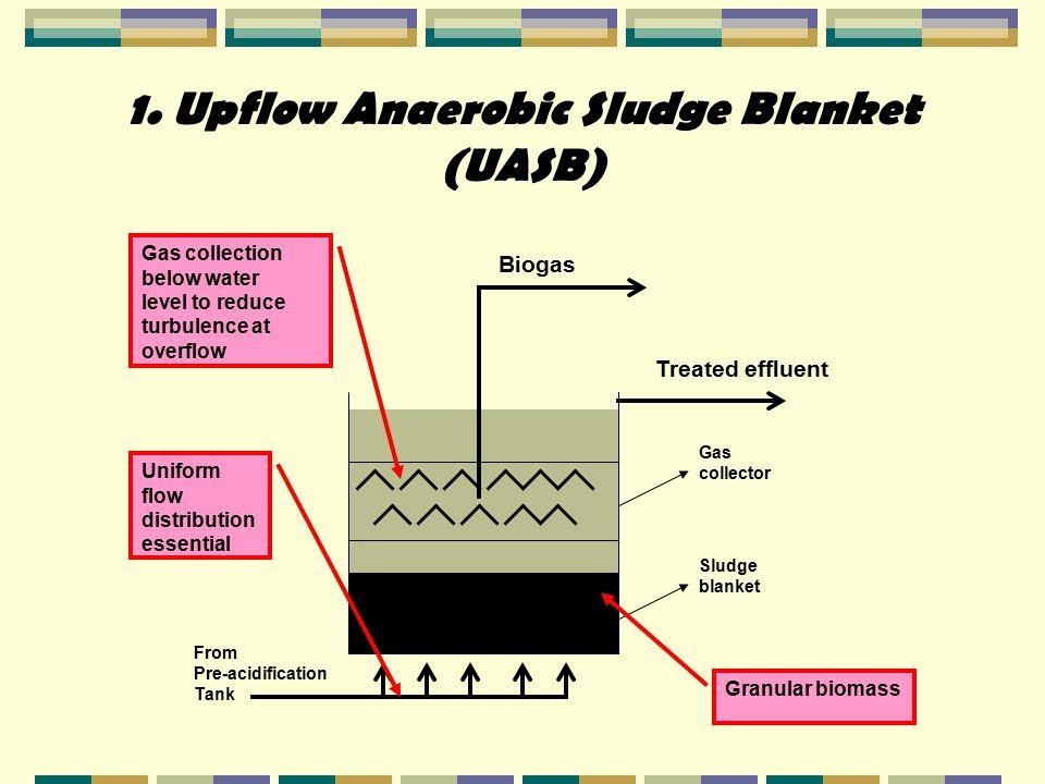 1. Upflow Anaerobic Sludge Blanket (UASB)