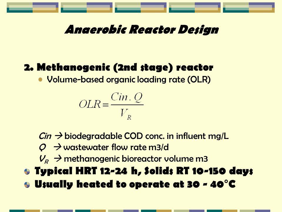 Anaerobic Reactor Design