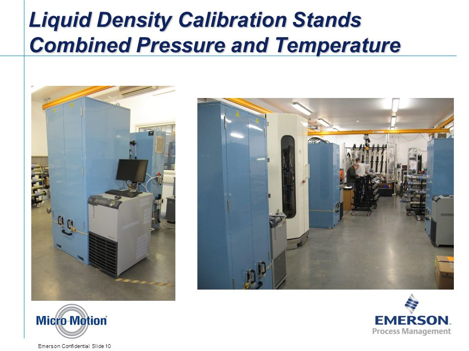 Liquid Density Calibration Stands Combined Pressure and Temperature