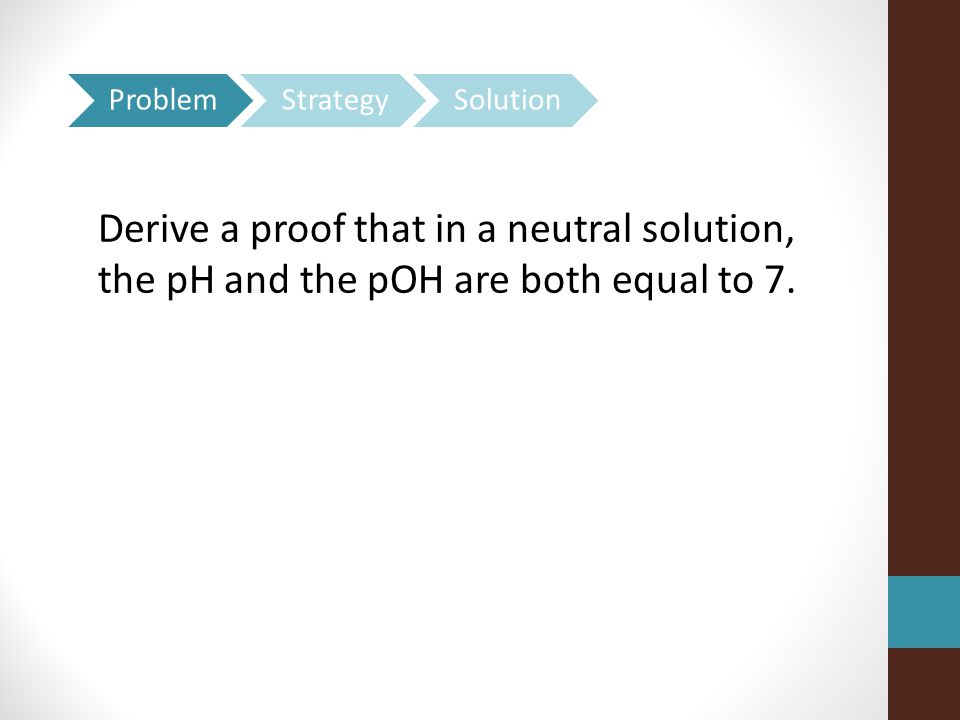 Problem Strategy. Solution.