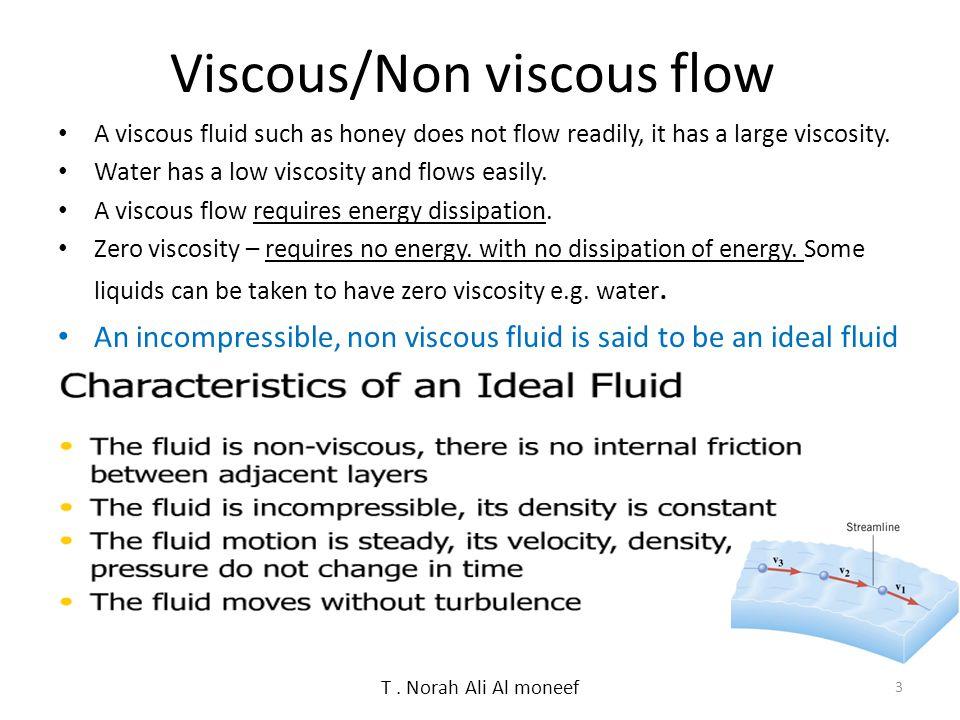 Viscous/Non viscous flow
