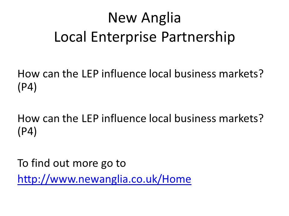 New Anglia Local Enterprise Partnership