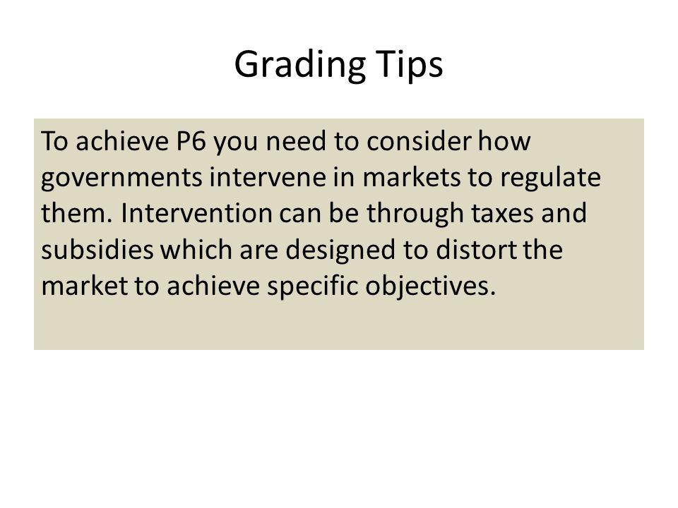 Grading Tips