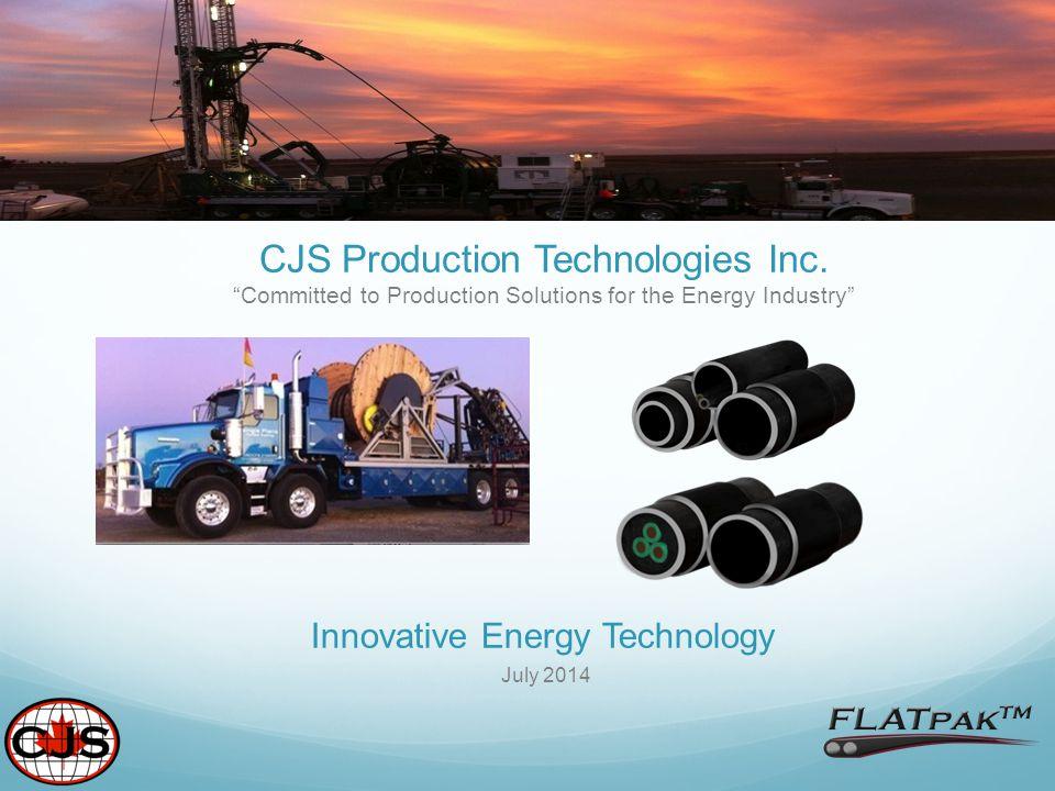 Innovative Energy Technology July 2014