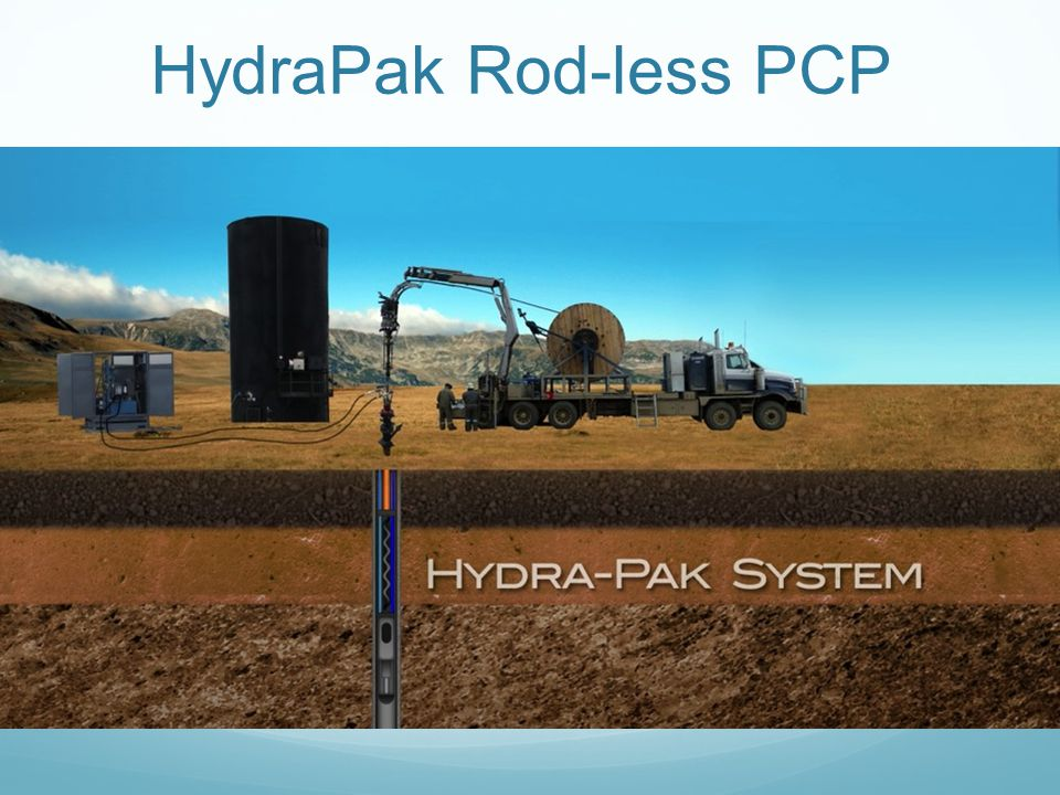 HydraPak Rod-less PCP