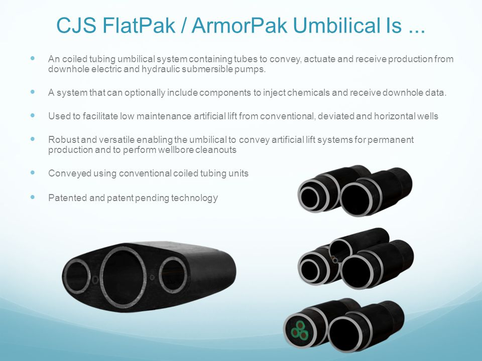 CJS FlatPak / ArmorPak Umbilical Is ...