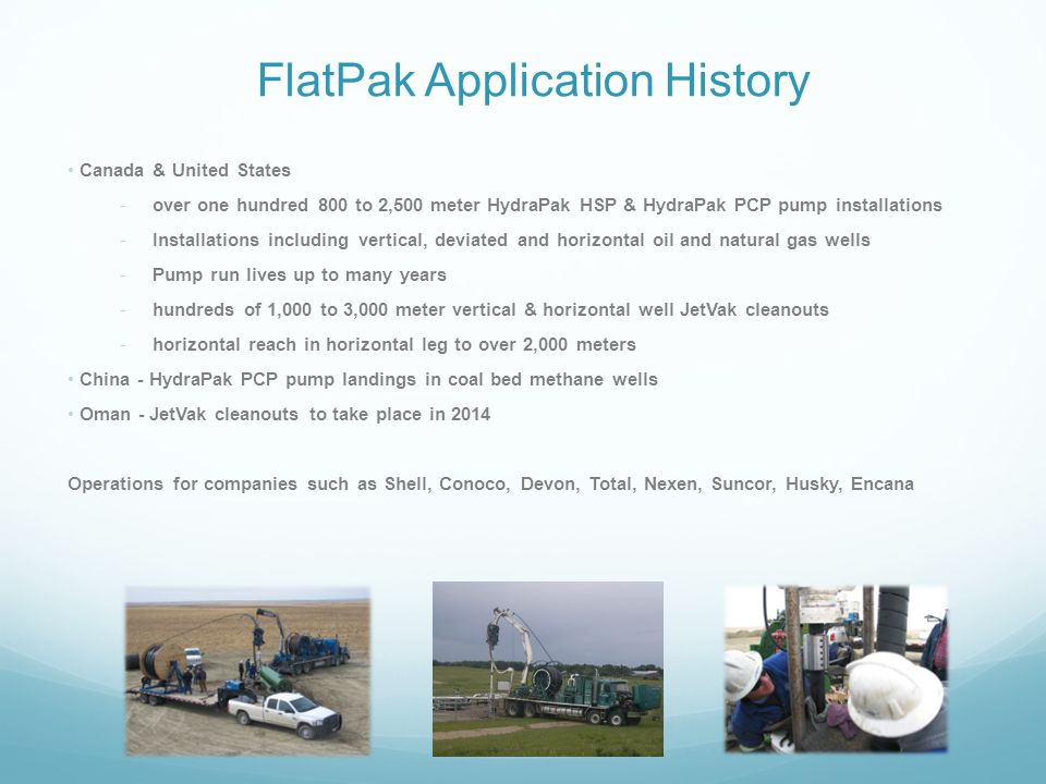 FlatPak Application History
