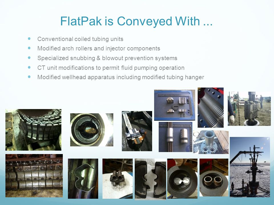 FlatPak is Conveyed With ...