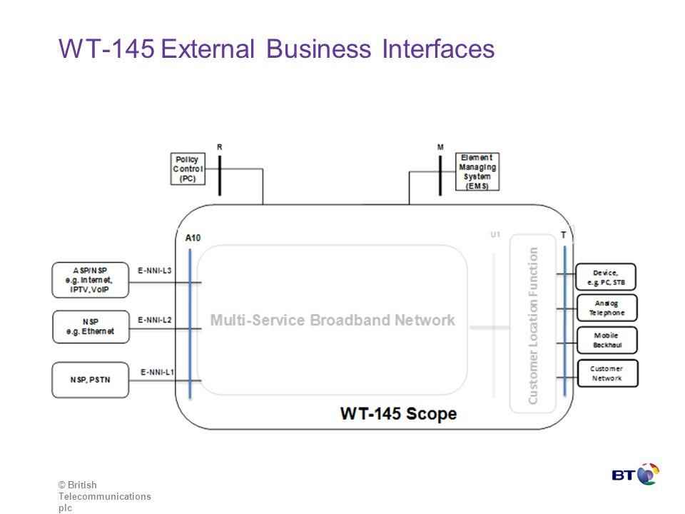 WT-145 External Business Interfaces