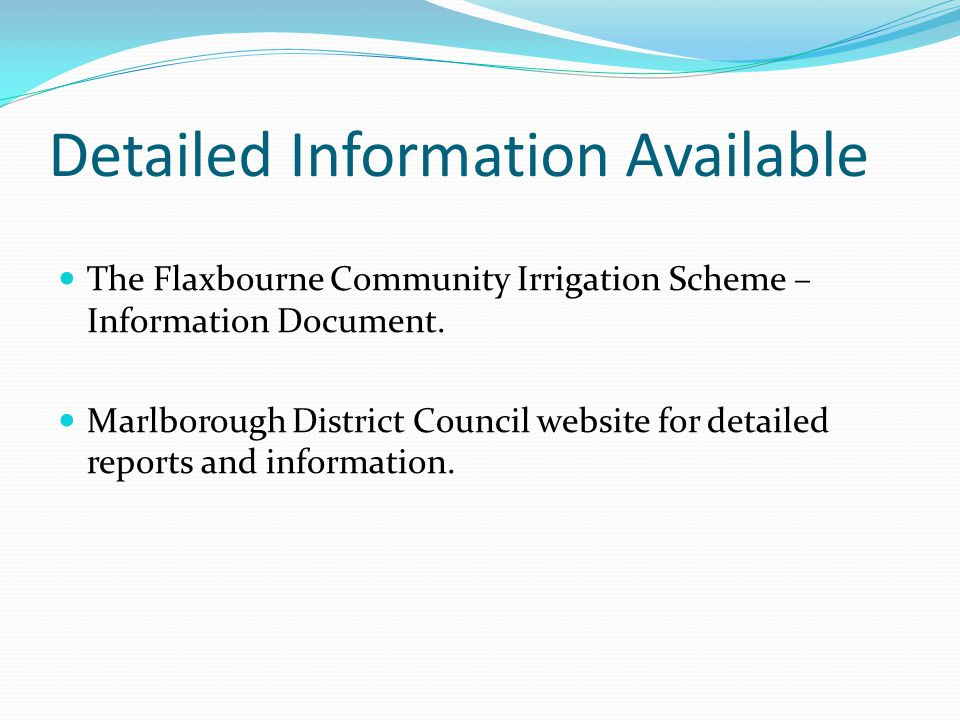 Detailed Information Available
