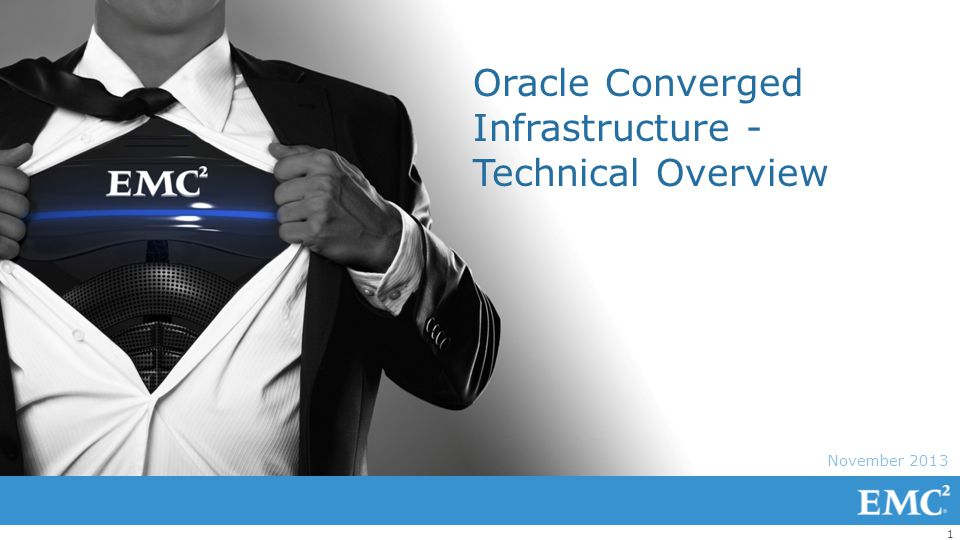 Oracle Converged Infrastructure - Technical Overview