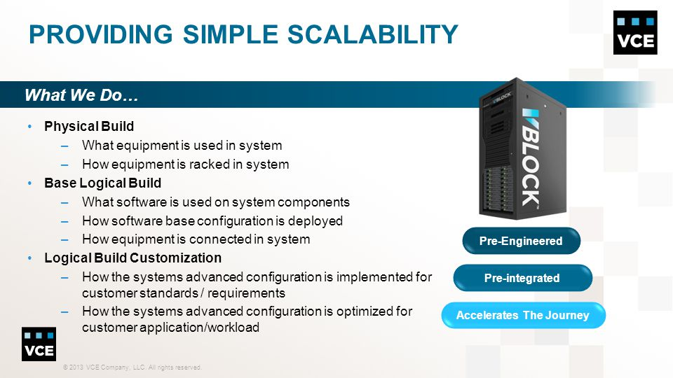 Providing Simple Scalability