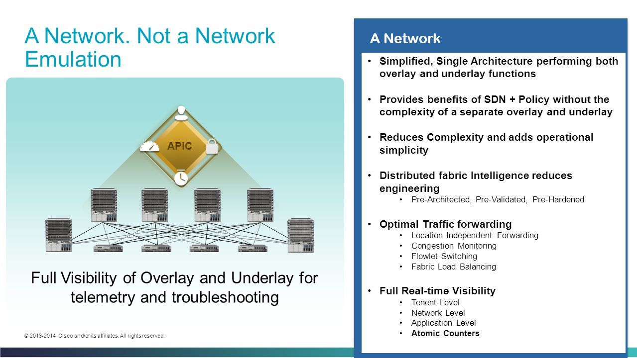 A Network. Not a Network Emulation
