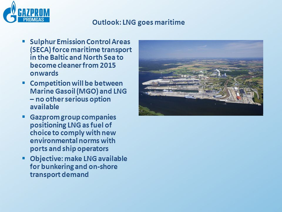 Outlook: LNG goes maritime
