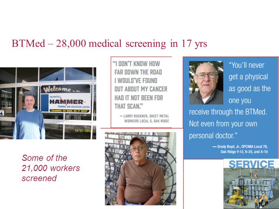 BTMed – 28,000 medical screening in 17 yrs