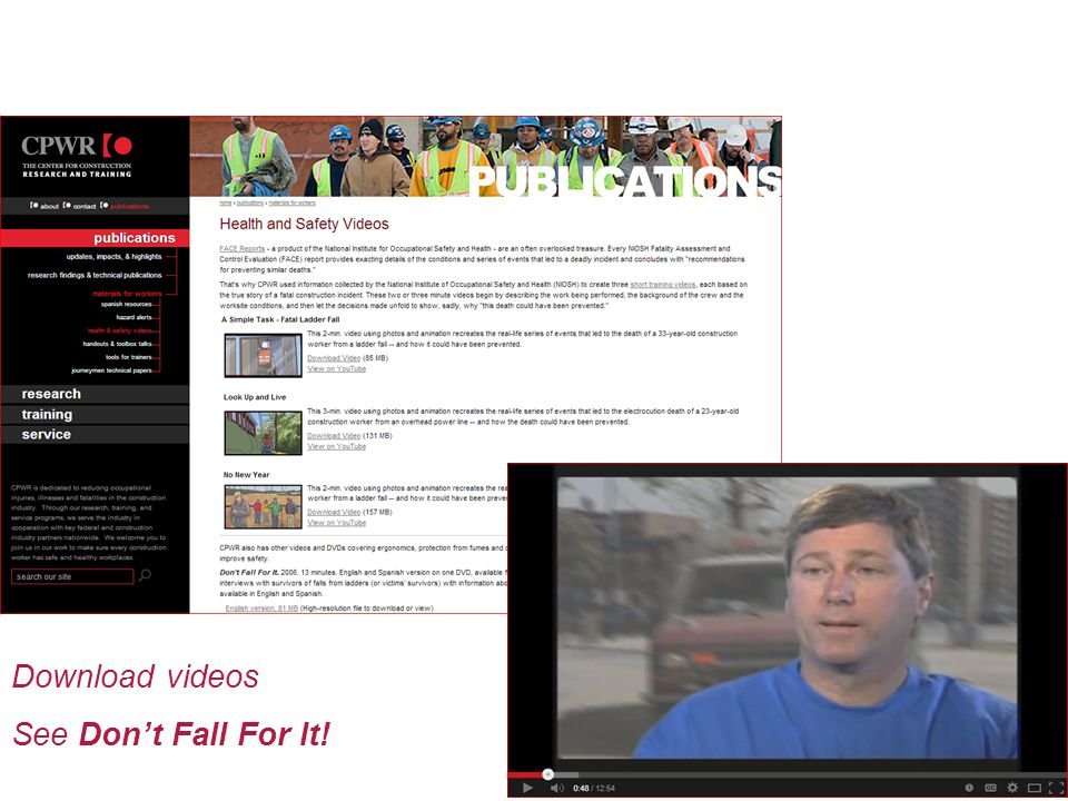 Download videos See Don't Fall For It!