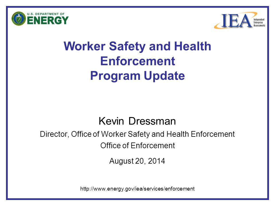 Worker Safety and Health Enforcement