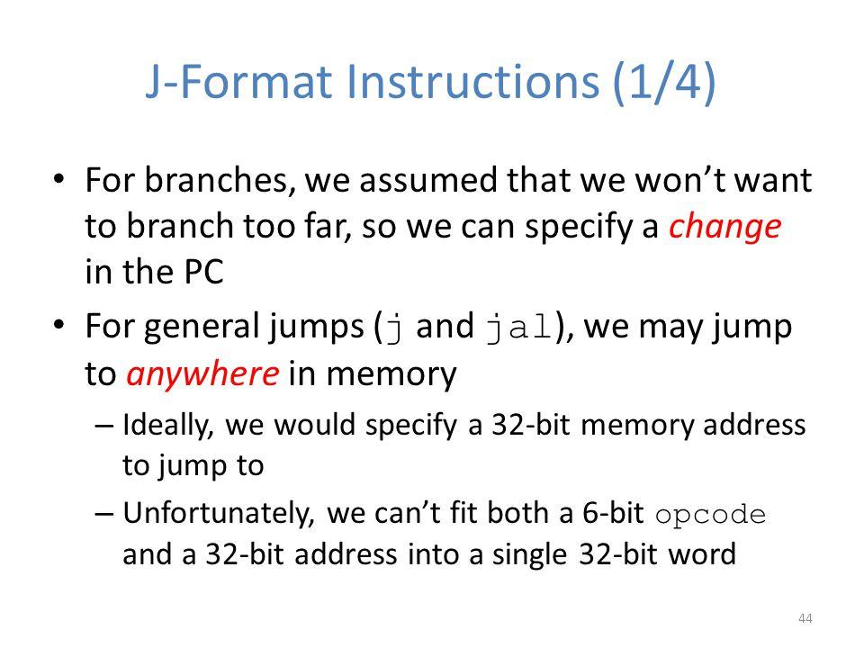 J-Format Instructions (1/4)