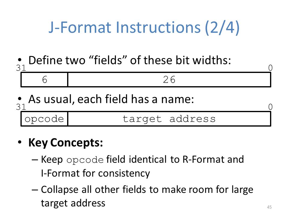 J-Format Instructions (2/4)
