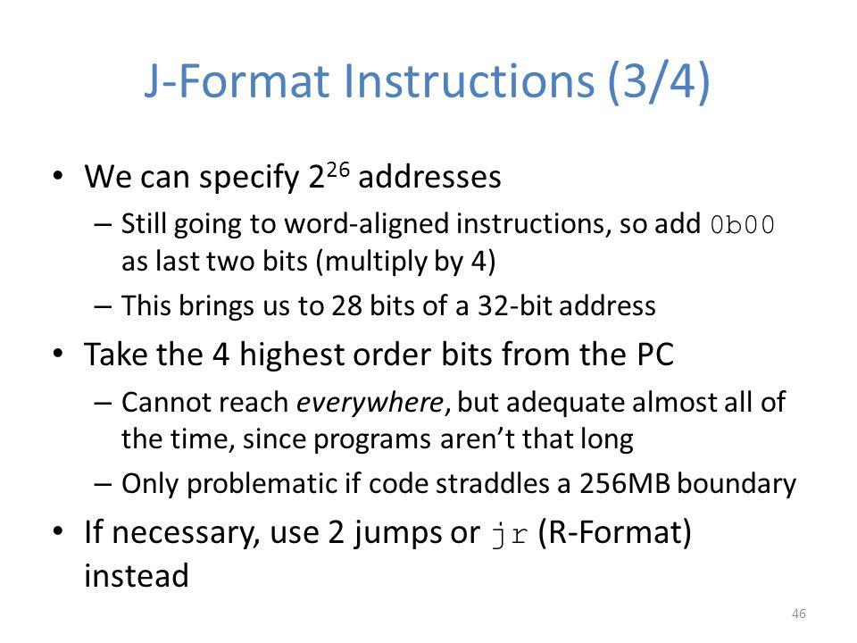 J-Format Instructions (3/4)