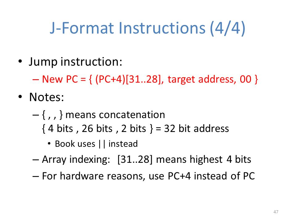 J-Format Instructions (4/4)