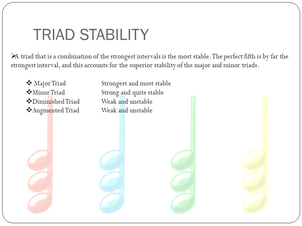TRIAD STABILITY
