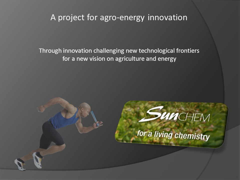 A project for agro-energy innovation
