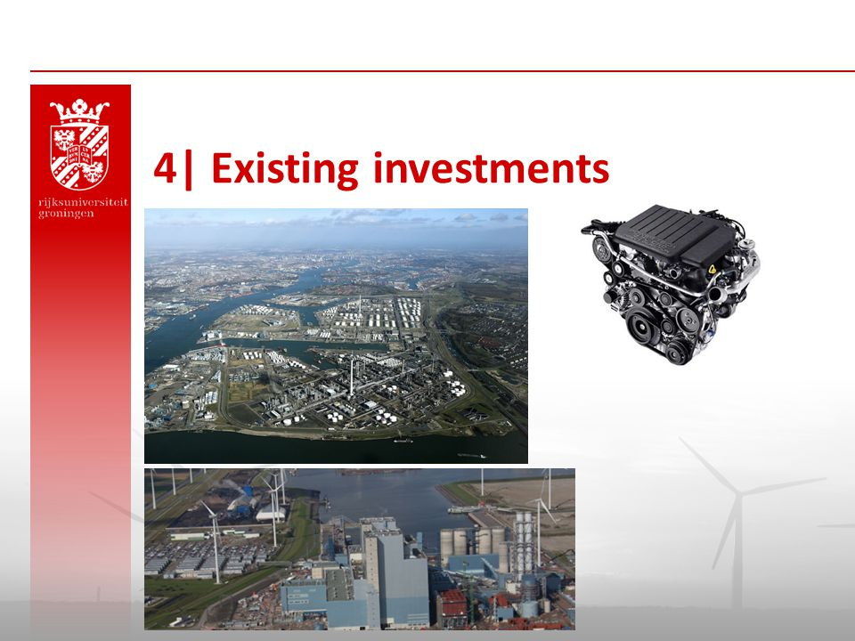 4| Existing investments