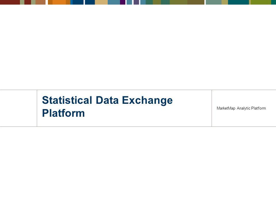 Statistical Data Exchange Platform