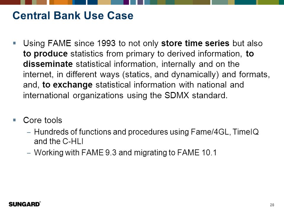 Central Bank Use Case