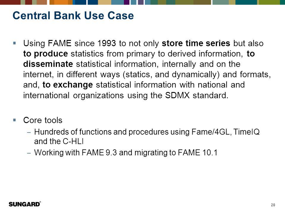 Central Bank Use Case